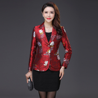 Hight Quality 2018 Autumn Winter Women New Suit Fashion Business Female Professional Womens Blazers Long Sleeve Mother Jackets