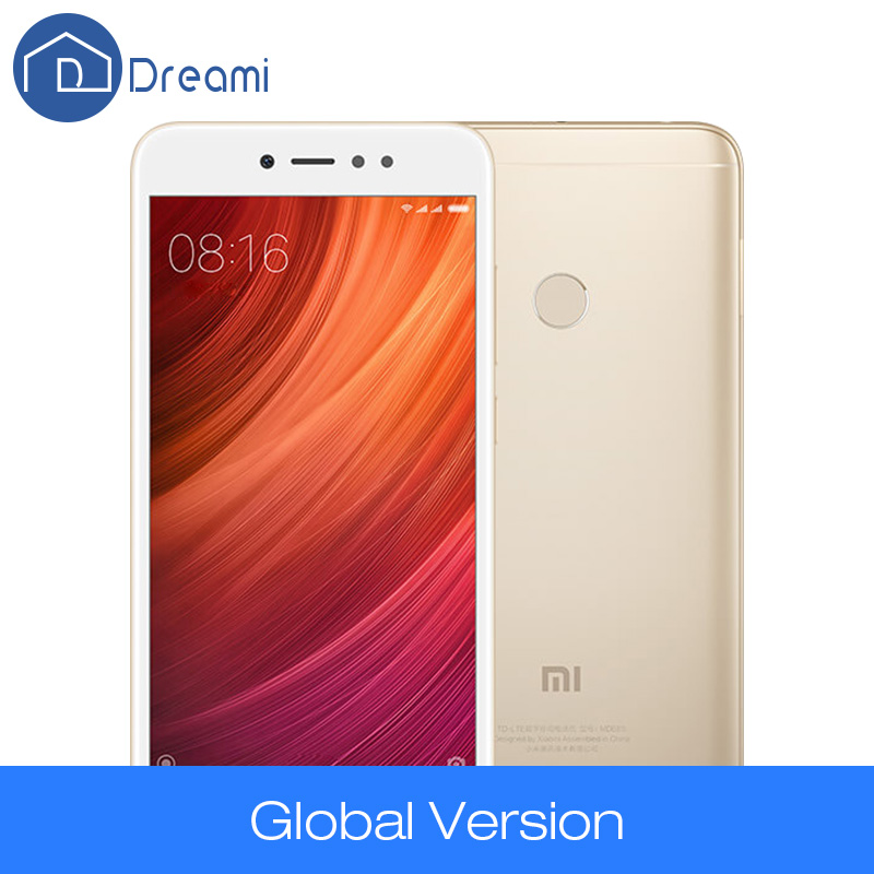 Global Version Original Xiaomi Redmi Note 5A 3GB 32GB Snapdragon 435 Octa Core 5.5 Inch 16MP Front Camera Fingerprint FDD LTE