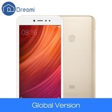 Глобальная версия Оригинальный Xiaomi Redmi Note 5A 3 ГБ 32 ГБ Snapdragon 435 Octa Core 5.5 дюймов 16mp Фронтальная камера отпечатков пальцев FDD LTE
