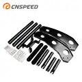 CNSPEED modificação Do Carro Amortecedor Dianteiro Para Ford Mustang 2015 2017 cor Preta YC101372