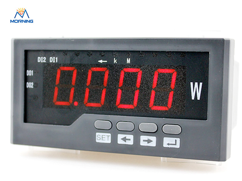 3P41 hot sell factory price three-phase led display ac digital active power meter frame size 60*120mm 3uif23 frame size 120 120mm 3 phase ac led digital combined meter for distribution box