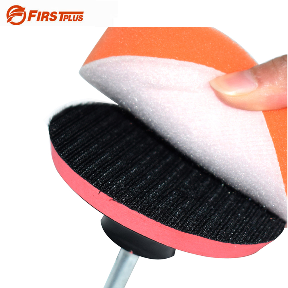 150 180mm Self Adhesive Polishing Wheel Discs For Car Sanding Polishing Buffer With Drill Adapter Car Styling