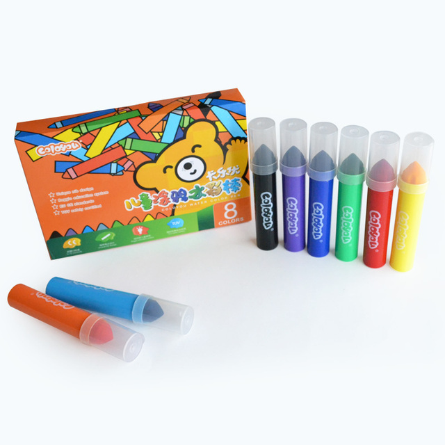 Child water color stick 2 - 7 baby doodle 8 8