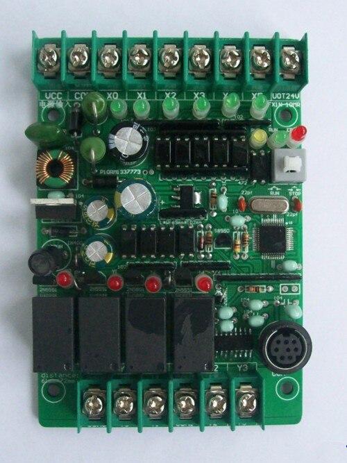 Fast Free Ship PLC Industrial Control Board MCU Control Board Relay Board Programmable Controller FX1N-10MR FX1S-10MR