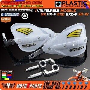Image 2 - Powerzone الوسخ الدراجة النارية atv المقود handguards اليد الحرس ل ktm xcw sxf exc sx exc f husqvarna crf yzf rmz kxf klx