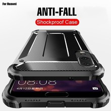Armor Bumper Case For Huawei P20 Lite Shockproof Cover Luxury Pro Mate 20 10 P Smart Phone