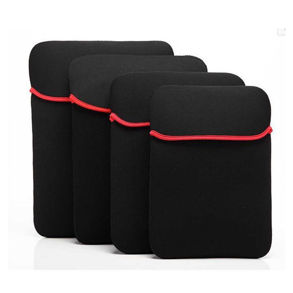 GerTong العالمي حقيبة لاب توب دفتر حقيبة الحقيبة جراب للماك بوك الهواء 13 12 14 15 بوصة ل باد 7 8 9 10 بوصة بسيطة غطاء