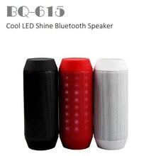 Crazycube bq-615 мини портативный светодиодный водонепроницаемый беспроводной bluetooth спикер usb аудио 3.5mm сабвуфер pk флип зарядки 2 импульсов 2