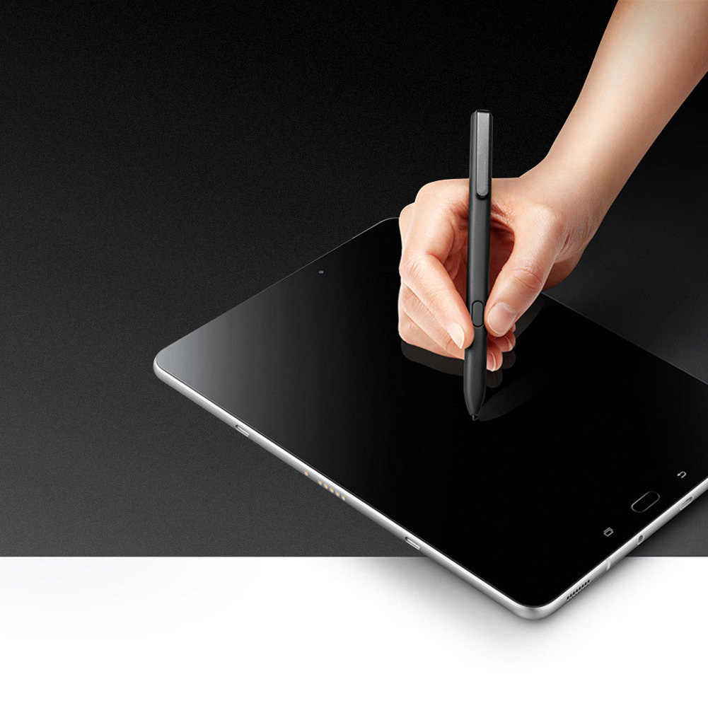 ปากกาStylusเรียบ9.7นิ้วอุปกรณ์เสริมความไวสูงของขวัญพลาสติกเปลี่ยนMultiใช้ScreenshotsสำหรับSamsung Galaxy Tab S3