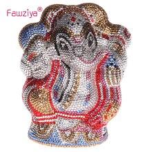 Fawziya Frauen Geldbörsen Elefanten Bling Elefanten Geldbörsen Für Frauen Box Kupplung Abendtaschen