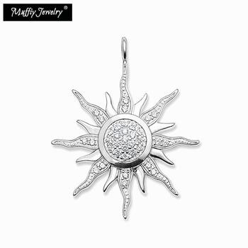 815c4f1188fd Colgante sol Thomas estilo Glam buena moda joyería para las mujeres 2017 Ts  regalo en plata de ley 925 y Zirconia Super ofertas