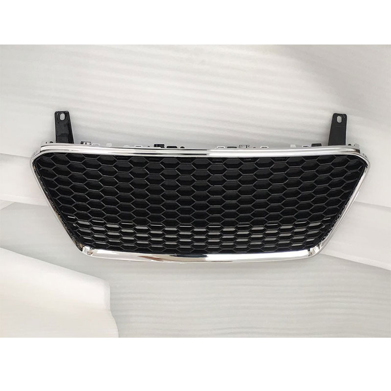 Auto styling R8 RS Style chroom Frame zwart Front Grill Grille Voor - Auto-onderdelen - Foto 1
