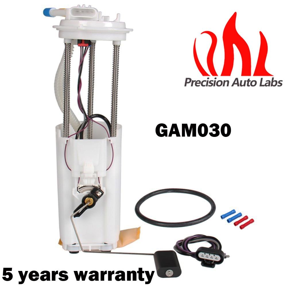 PRECISION AUTO LABS New Fuel Pump & Assembly 1996 Blazer Bravada Jimmy V6 4.3l 4 Door Gam030 Ctp0013