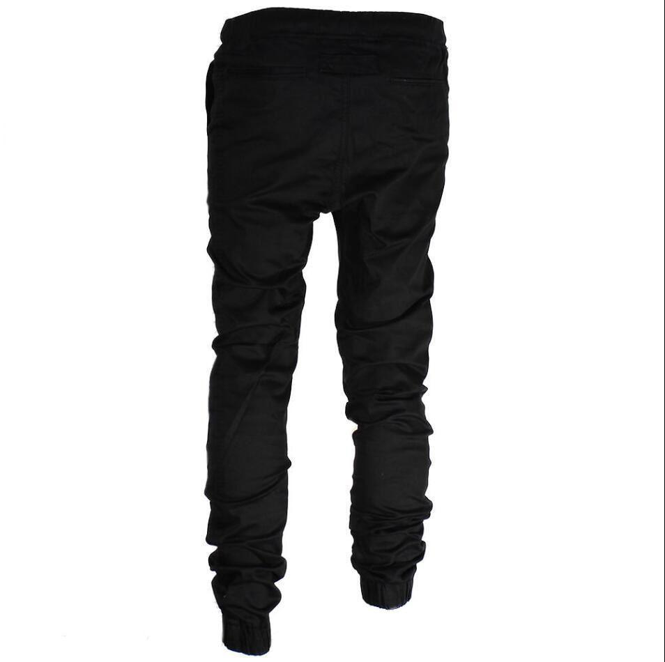 e78a91283246fa HIRIGIN 2017 Autumn Winter Men's Twill Jogger Pants Urban Hip Hop Harem  Casual Trousers Slim Fit Elastic cargo pants men-in Cargo Pants from Men's  Clothing ...