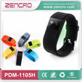 Portable Activity Tracker Silicone Band Smart Bracelet Pedometer with Calories Counter