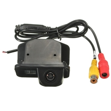Вид сзади автомобиля CCD Парковка камера Широкоугольный объектив подходит для Toyota/Corolla 2011 2012 2013 парковочные системы