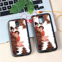 Wreck It Ralph Animation fashion cover case for samsung galaxy S3 S4 S5 S6 edge S7 edge NOTE 3 / 4 / 5 #A8398