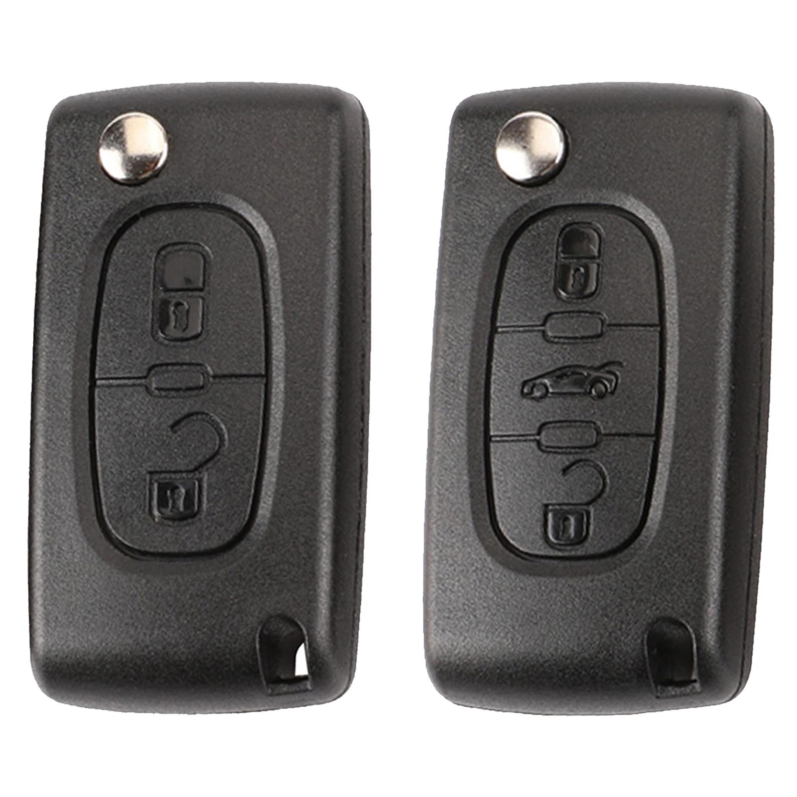 2 BTN HCA/VA2 Remote Flip Car Key Shell for Peugeot 207 307 308 407 408 607 Citroen C2 C3 C4 C5 C6 C8 Xsara Picasso CE0523/CE5362 BTN HCA/VA2 Remote Flip Car Key Shell for Peugeot 207 307 308 407 408 607 Citroen C2 C3 C4 C5 C6 C8 Xsara Picasso CE0523/CE536