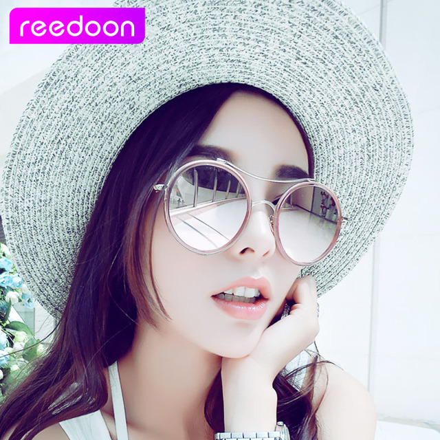 ad3ff35911 2016 ReeDoon Brand Polarizing Sunglasses Summer Style Alloy Frame Women s Sun  Glasses 7 colors oculos de