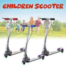 Светодиодный фонарь для детского скутера на открытом воздухе, регулируемый светильник, 3 колеса, складной, алюминиевый сплав, для улицы, для детей, для спорта, подарок для ребенка