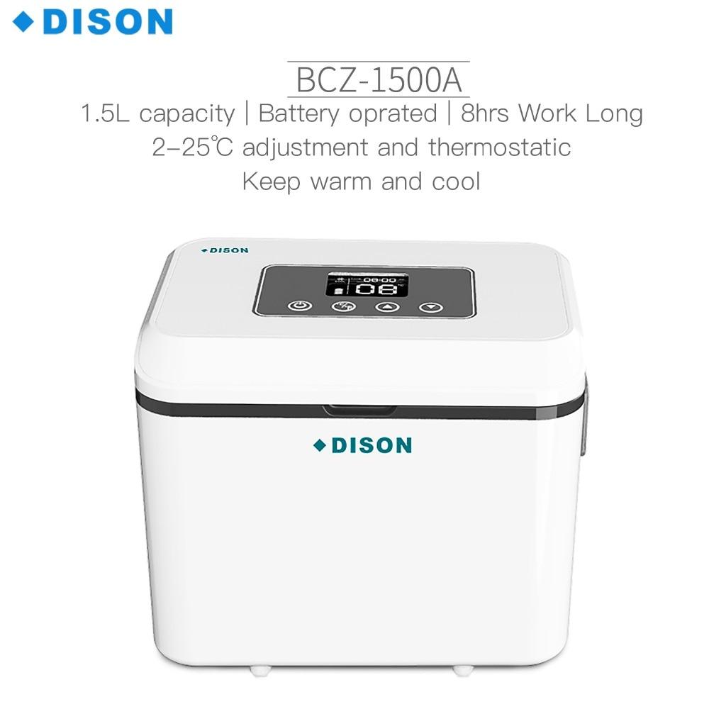 Dison insulin refrigerator Portable With Shoulder Blood Insulin Cooler Box Vaccine Carrier Mini Fridge Refrigerator