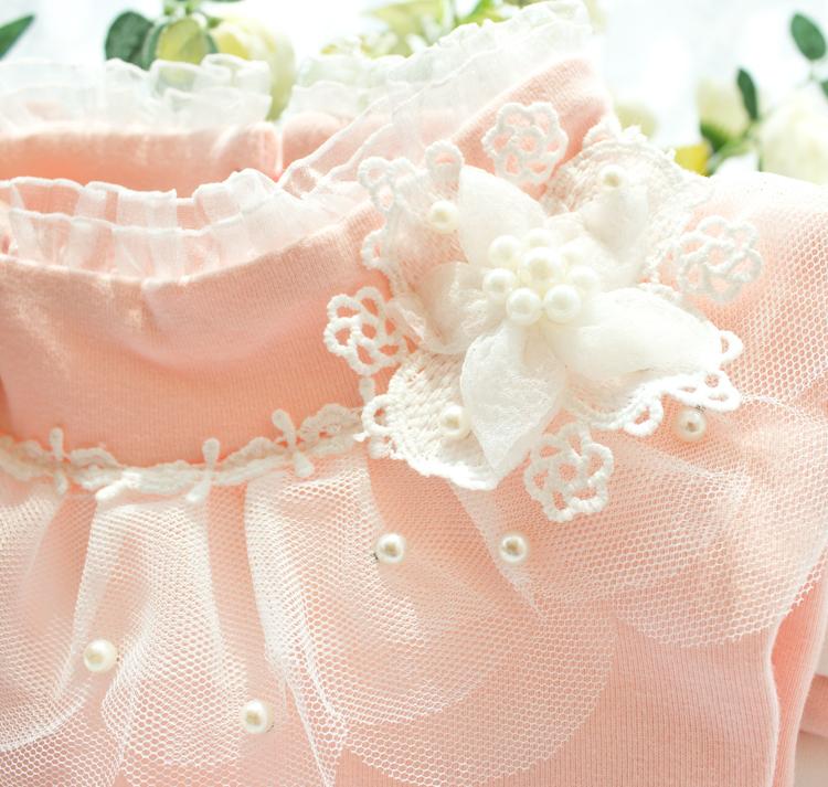 HTB1KaC5LXXXXXc8XFXXq6xXFXXXp - 2017 Autumn Girls Turtleneck T-Shirt Cotton Children White Pink Shirts Baby Girls Clothing Long Sleeve Bottom Tops For Kids