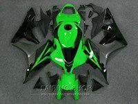 100%suit Fairing For HONDA CBR 600RR 2007 2008 ( green Fairings ) cbr600rr 07 08 kit x