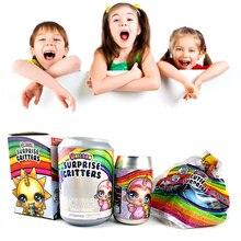 Блестящие пупси слизь сюрприз Единорог пупси licorne куклы Единорог слизи слюну слизи игрушки для детей