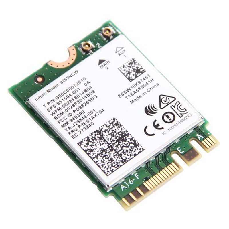 for Intel Dual band Wireless-AC 8265 8265NGW Bluetooth 4.2 867Mbps M2 Wireless NetworkCard Better than 7265 7260 8260(China)