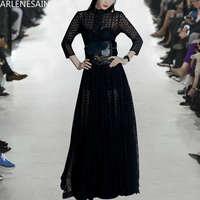 Arlenesain на заказ 2019 новое черное кружевное платье сексуальное женское платье
