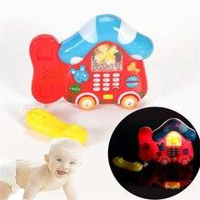 Peradix Intelligence Toy Gift Kids Cartoon Pull Line Telephone Children interesting