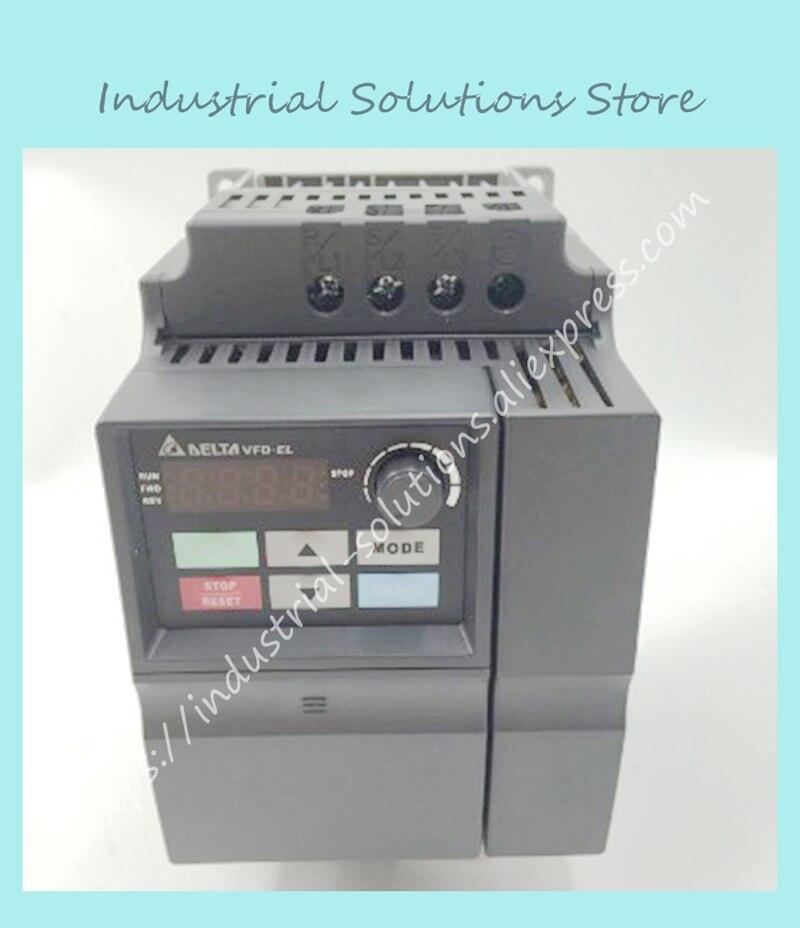 Input AC 3ph 380V Output AC 3ph Delta Inverter VFD037EL43A Qau 0~480V 8.2A 0.1~600Hz 3.7KW 5HP vfd110cp43b 21 delta vfd cp2000 vfd inverter frequency converter 11kw 15hp 3ph ac380 480v 600hz fan and water pump