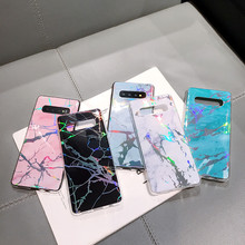 CYATO S10 Case Luxury Marble Cover For Samsung Plus S10E Phone Cases ins Hot Selling Coque Soft TPU Note9
