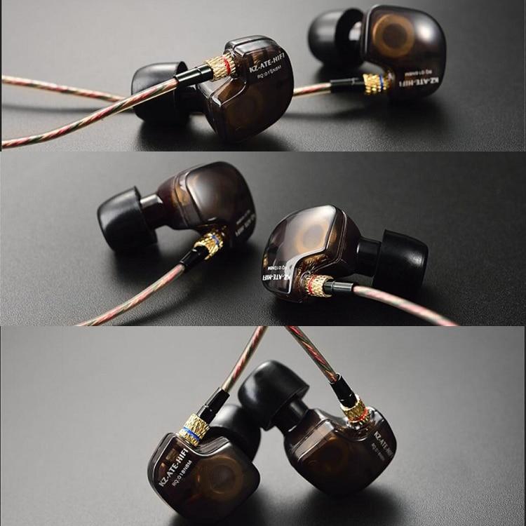 Fones KZ ATE Auricular estéreo profesional de alta fidelidad - Audio y video portátil - foto 6