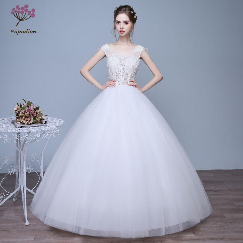 Bridal Dresses Princess Cute Lace Slim Fit Wedding Dresses