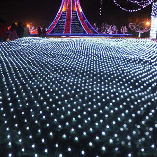 Waterproof 220v 200leds 3mx2m led outdoor indoor net lights waterproof 220v 200leds 3mx2m led outdoor indoor net lights christmas xmas fairy string holiday wedding aloadofball Image collections