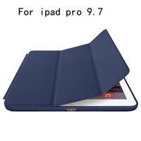 Originale caso astuto tablet caso della copertura del Cuoio DELL'UNITÀ di elaborazione di Protezione Per Apple i pad pro 9.7