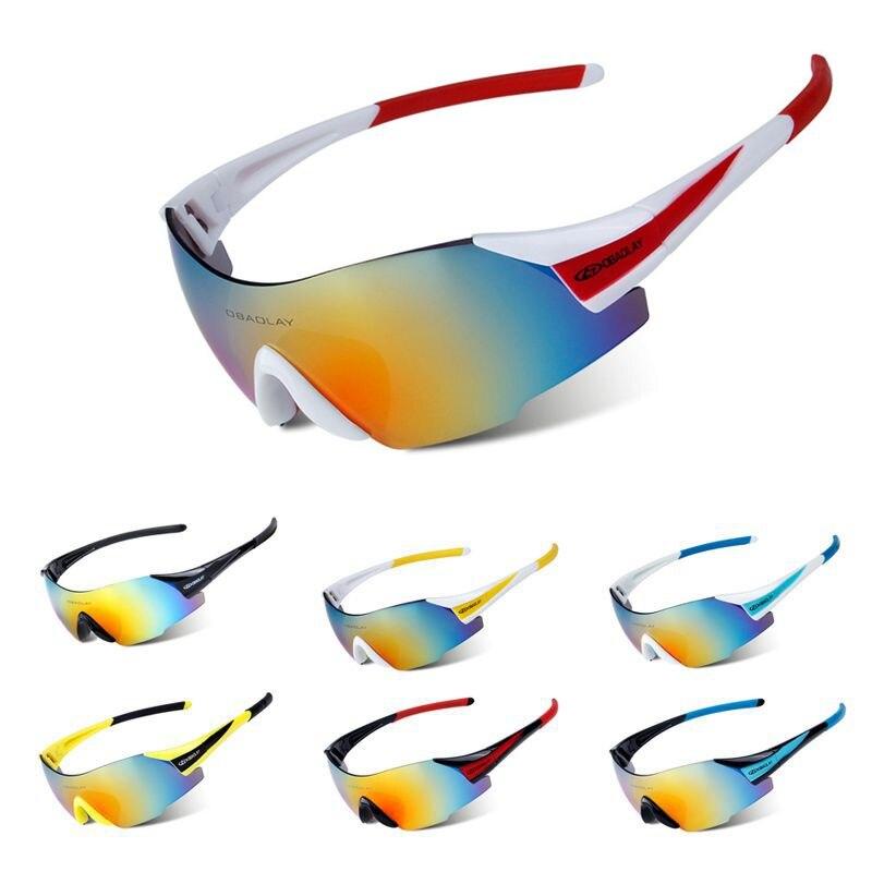 Prix pour Cyclisme lunettes de Soleil SP0889 UV400 Extérieure Lunettes Sans Cadre Lunettes de Sport VTT de Bicyclette Motocyclette Anti-sable pare-brise Lunettes 8 Couleurs