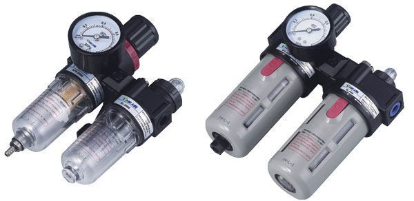 BFC3000-02 air combination filter regulator lubricator pressure regulator pneumatic component ac3000 series air filter combinations f r l combination ac3000 02 g1 4