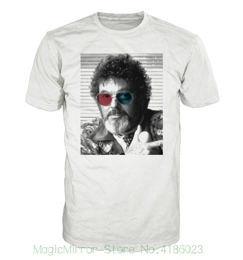 Dr Jacobi Colour Glasses T-shirt. Inspired By The Cult Tv Series Twin Peaks Printed T-shirt Pure Cotton Men