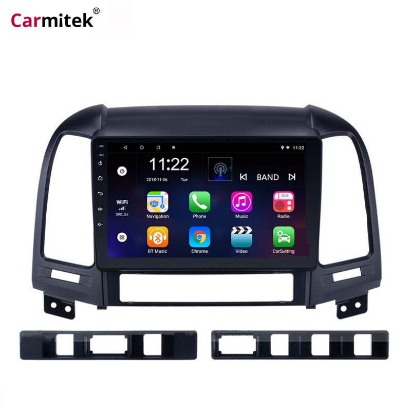Android Car Radio Multimedia Stereo Audio Player Navi <font><b>GPS</b></font> 2Din For <font><b>Hyundai</b></font> <font><b>Santa</b></font> <font><b>Fe</b></font> 2006 2007 2008 2009 <font><b>2010</b></font> 2011 2012 Head Unit image