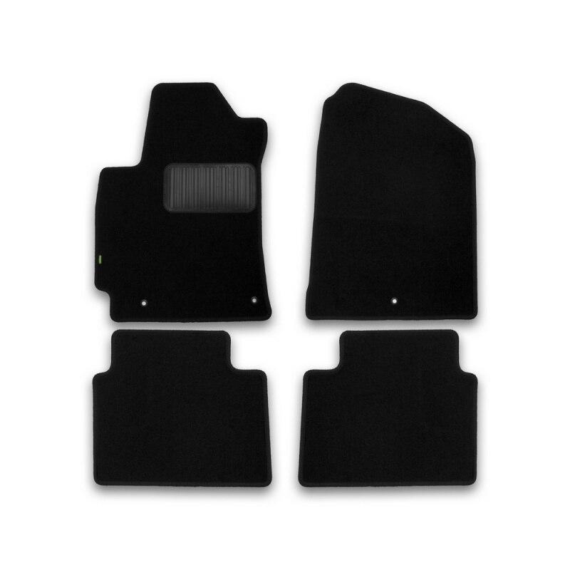 Mats in salon Klever Standard for HYUNDAI Elantra 2016->, сед... 4 PCs (textile) mats in salon klever premium for hyundai elantra 2014 2016 сед 5 pcs textile beige