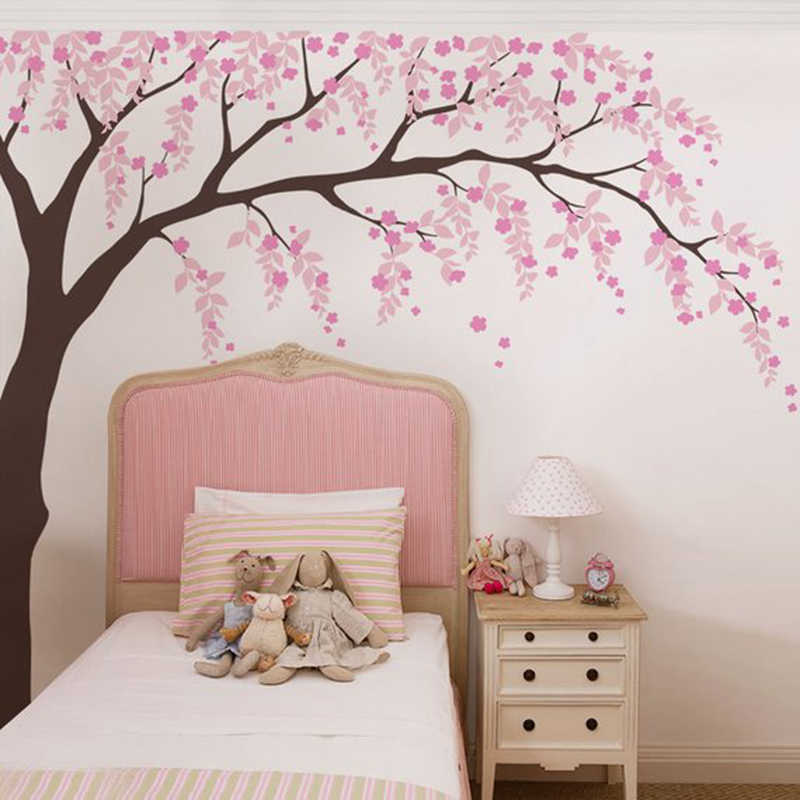 Room Wall Decal Cherry Blossom Tree
