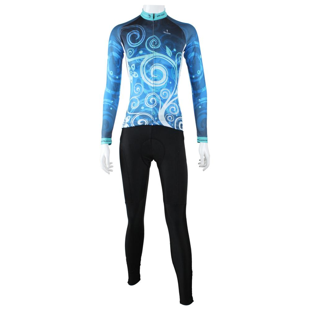 Hot cycling jerseys Women Healthy cycling Sportswear 100% Polyester Cycling Jersey Long Sleeve Outdoor Bike Bicycle Clothing hot