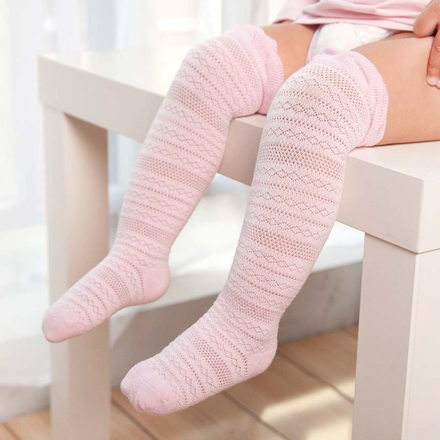 d85abe8e5c3 Newborn Toddler Knee High Socks Baby Girls Bow Sock Leg Warmer 6 Solid  Colors Kids Toddler Baby Girl Clothes Accessories 0-3 Y