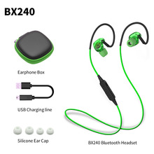 Bluetooth Earphone BX240 4.1 Wireless Headset Earphones Driver Element 10mm Sport Waterproof Earphones With Mic