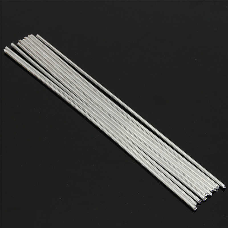 50PCS Low Temperature Aluminum Welding Solder Wire Brazing Repair Rods Hot WRA