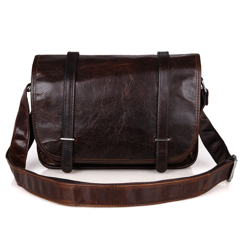 Nesitu Vintage 100% Guarantee Real Genuine Leather Women Messenger Bags Cowhide Woman bags #M3118