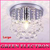 Luxury Modern Crystal Lights Aisle Lights Creative Porch Lights Crystal Ceiling Chandelier Lighting Fixtures Free Shipping