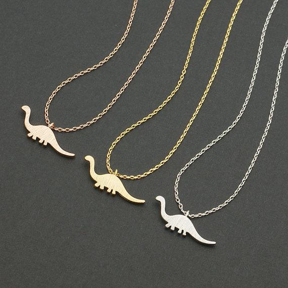Apatosaurus Dinosaur Necklace dinosaur necklace, dino charm necklace, apatosaurus necklace.jpg